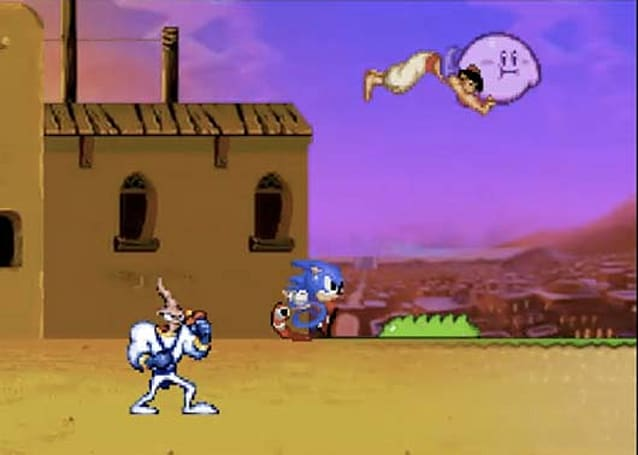 Video: Sonic, Samus, Mario and more race to the finish line