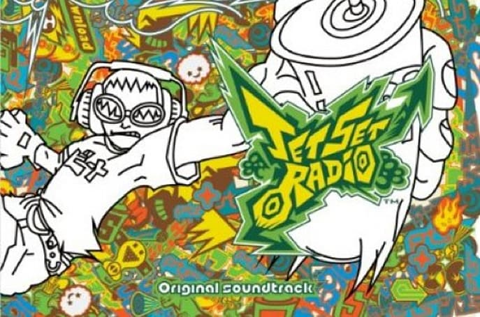Jet Set Radio soundtrack disappears from retail