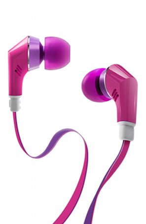 TruEnergy headphones are designed for women, full of vibrance and color