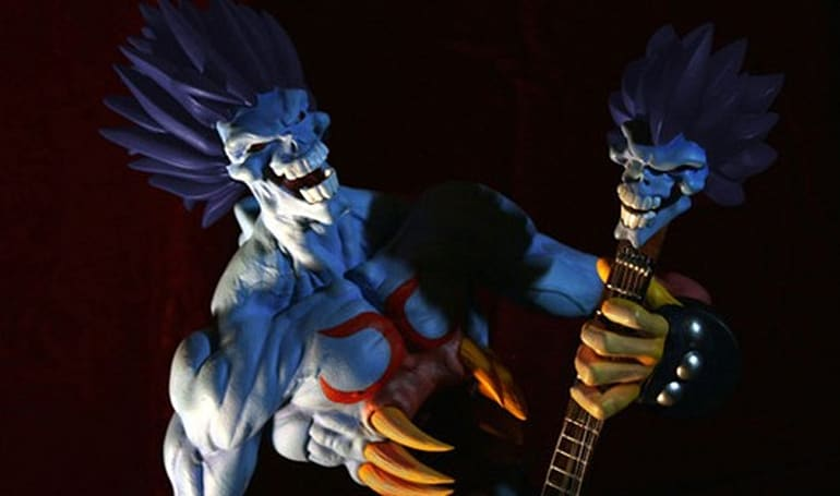 Darkstalkers Lord Raptor statue is worth an ugly penny