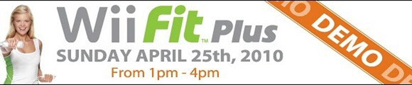 GameStop holding Wii Fit Plus demo events