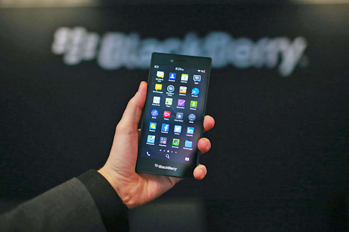 BlackBerry CEO won't say whether he gave up encryption keys