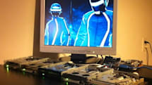 Daft Punk's 'Derezzed' finally heard the way it was meant to be -- on five floppy drives