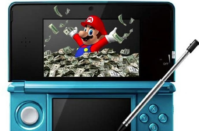 Nintendo profits fall 66% in fiscal year, 3DS sells 3.61 million