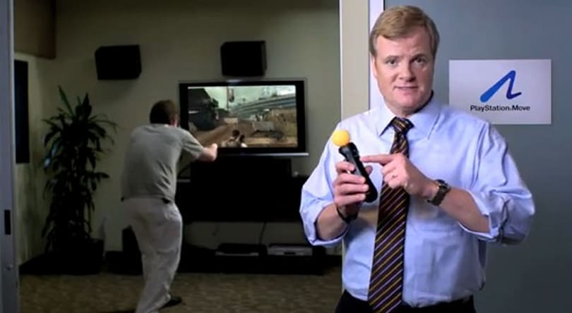 Kevin Butler shows that PlayStation Move only does time travel