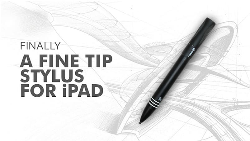 Precision Touch Dart Stylus: From Kickstarter to your hand