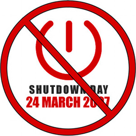 International Shutdown Day is here -- you still with us?