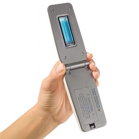 Handheld germ zapper uses nanotechnology to nix parasites