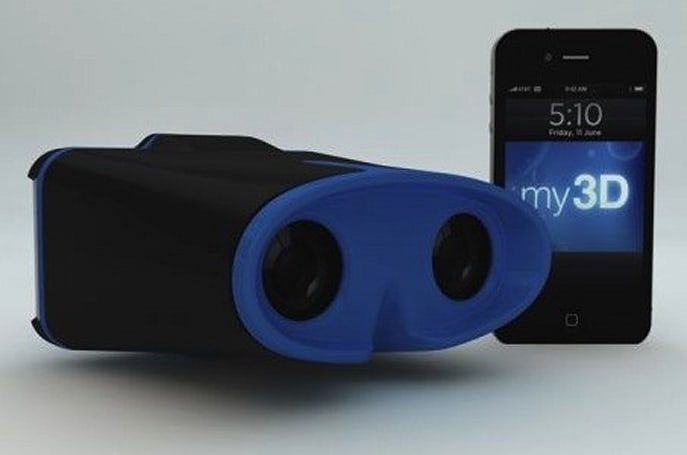 Hasbro making 3D goggles for iPhone