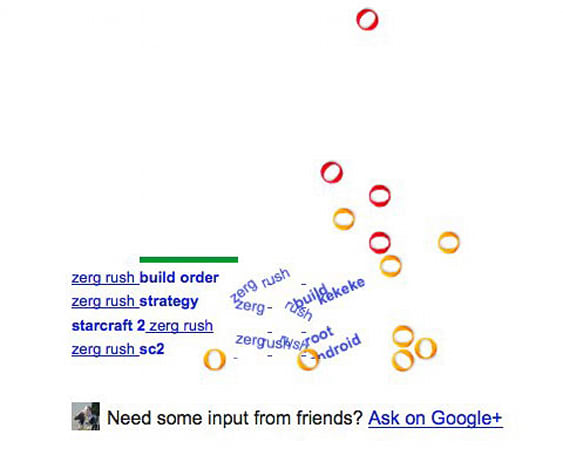 Google Zerg Rush: That was an order, soldier
