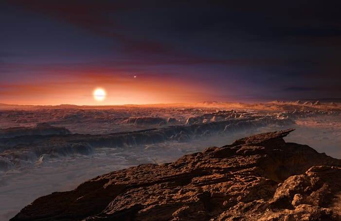 There's a potentially habitable planet just one star over