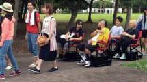 Smart Rollstuhl sei Dank: Schlange sitzen statt stehen