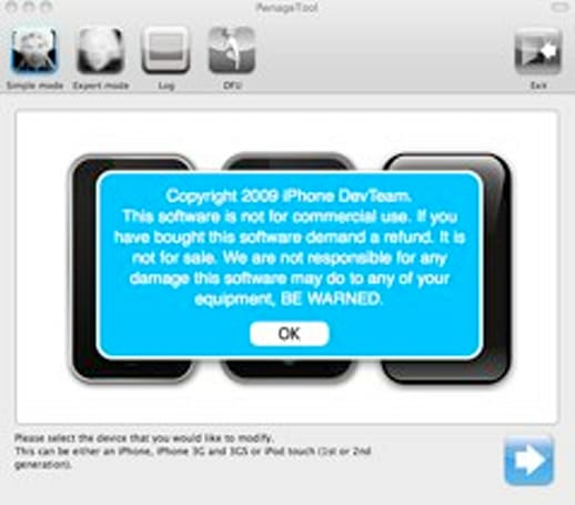 PwnageTool for iPhone OS 3.1.3 released for the version obsessed