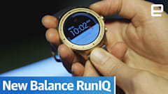 New Balance's running smartwatch is all about little tweaks