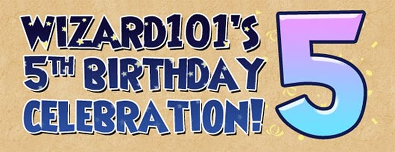 Wizard101 gives away presents for its birthday