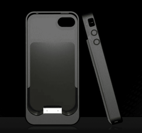 Energizer AP1201 case for iPhone 4 charges while it protects