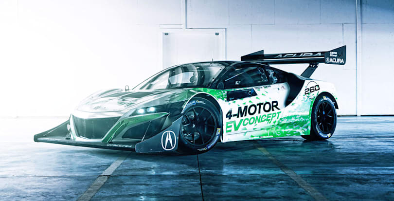 Acura built an electric NSX to tackle Pikes Peak
