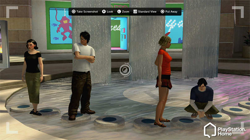 PlayStation Home 1.3 will let you launch any game from inside the metaverse