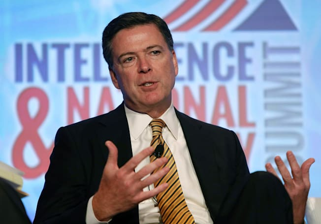 FBI chief James Comey recommends taping over your webcam