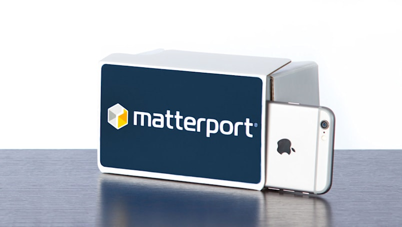 Matterport brings its Virtual Reality Spaces to the iPhone