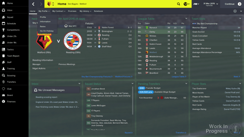 More for Mourinho wannabes in Football Manager 2015 next month