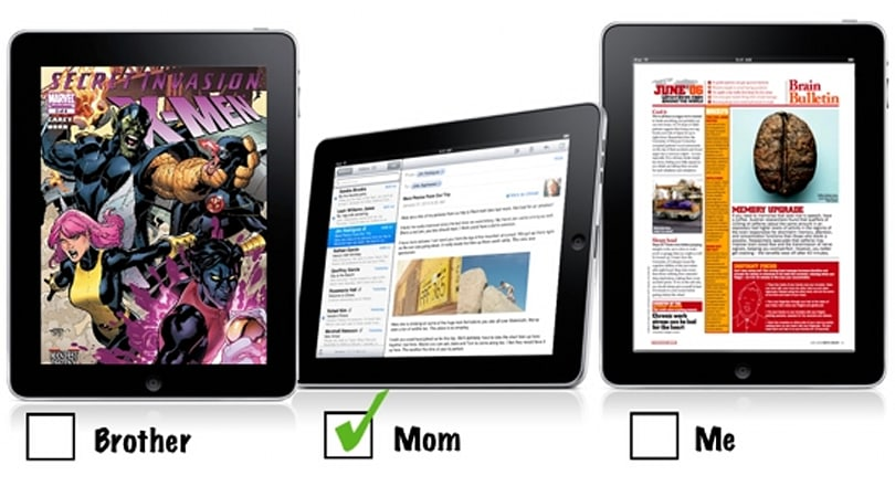 iPad in the family: What it'll take