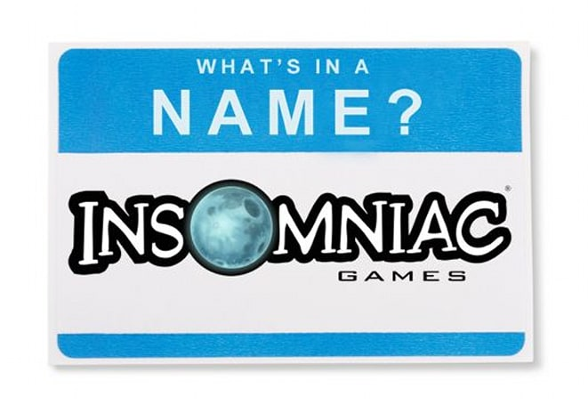 What's in a Name: Insomniac Games