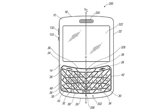 RIM patents trapezoidal BlackBerry keyboards for slanty-thumbed texters
