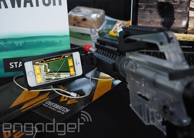 ​Overwatch: a smartphone app that makes airsoft more like a video game
