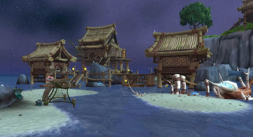 Mists of Pandaria Beta: The Angler's Wharf makes the perfect fishing hideaway