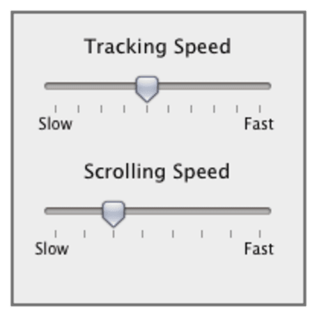 Mac 101: Adjusting your mouse and trackpad speed