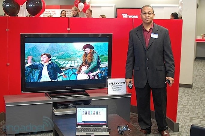 Hands-on with FiOS Flex View