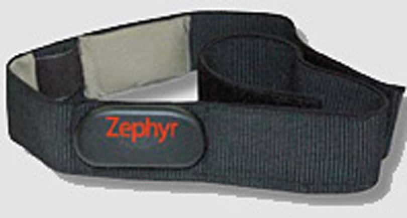 Zephyr's smart fabrics to gauge physiological data