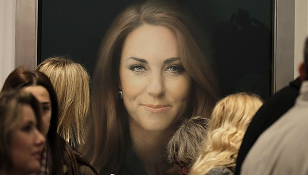 Kate Middleton's First Official Portrait Revealed