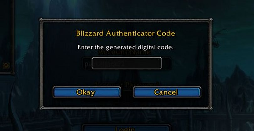 Battle.net authenticators limited to one account