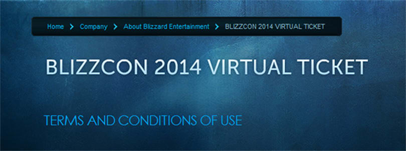 BlizzCon 2014 on the way?