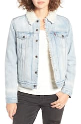 Levi's Trucker Jacket with Faux Fur Trim