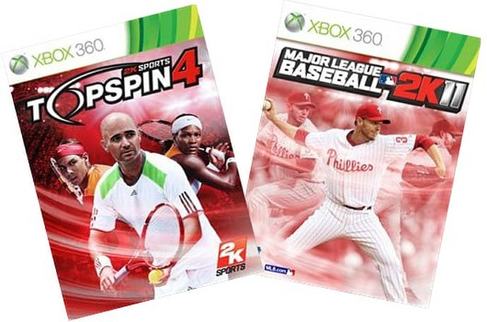 Top Spin 4 and MLB 2K11 demos tossed onto Xbox Live