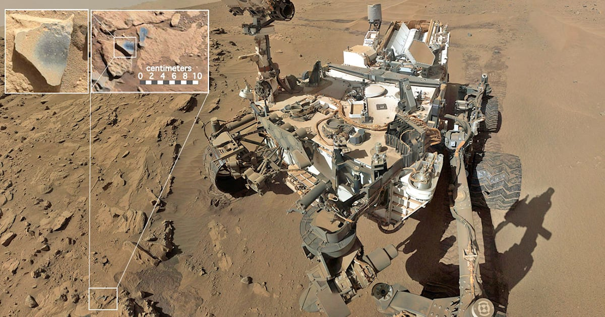 Curiosity finds evidence that Mars was once rich in oxygen