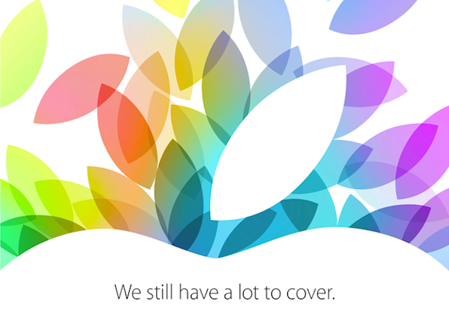 Taking the cover off Apple's October 22nd event: what you can expect