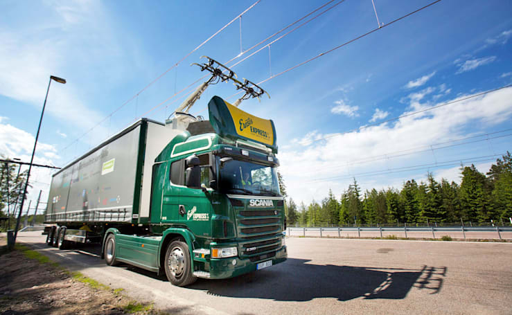 Sweden debuts the world's first 'electric highway'