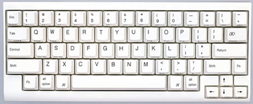Happy Hacking Keyboard Lite 2 for Mac touts Apple key, demotes Caps Lock
