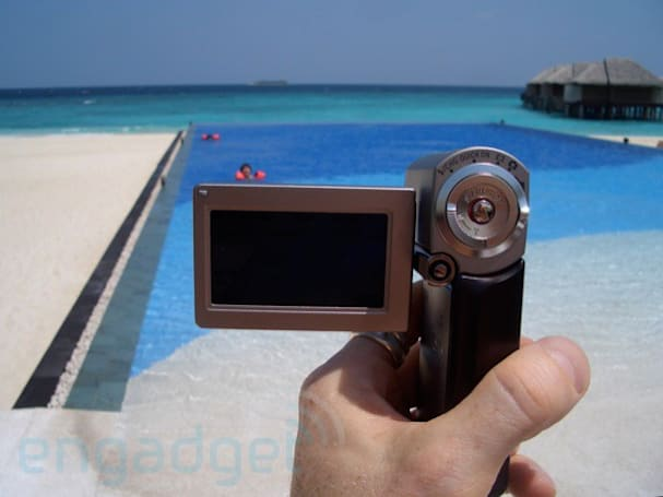 Sony's HDR-TG3E / HDR-TG1 HD camcorder reviewed