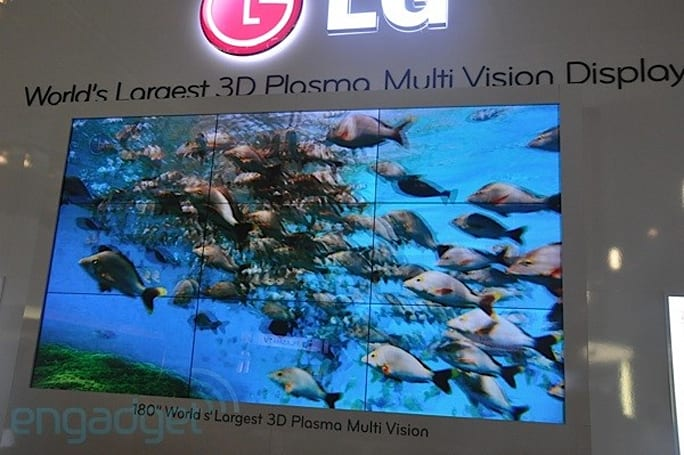 LG's 180-inch plasma that wasn't