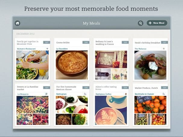 Evernote Food goes full circle on iOS: now on iPad along with all-new design