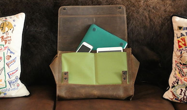 Waterfield Designs Rough Rider leather messenger bag: Review and giveaway (Updated)
