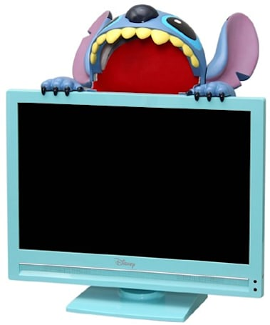 Disney's latest LCD TV gets mauled by Stitch