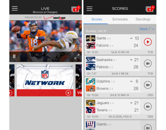 NFL Mobile updated for 2014 Season with new Fantasy Football features, NFL Now integration