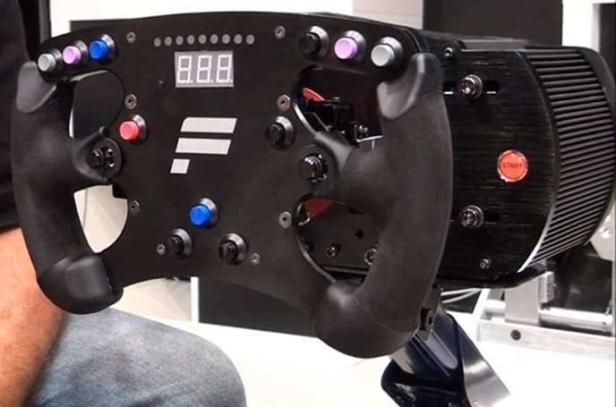 Fanatec's ClubSport racing wheel is definitely not for Sunday drivers (video)