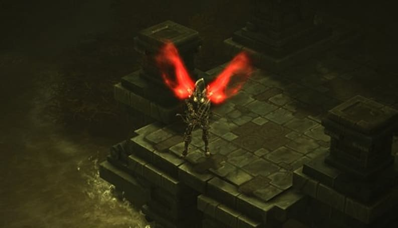 Diablo III console port was almost a twin-stick shooter